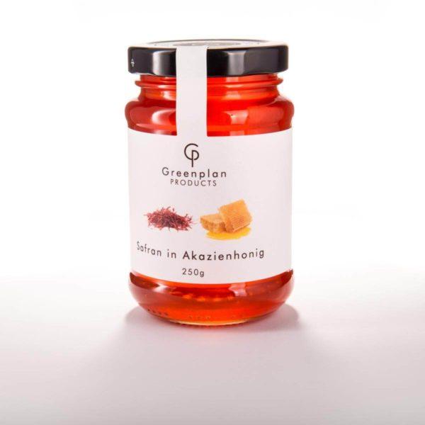 Johann Lafer Safran in Akazienhonig 200 g edle Honig Geschmackserlebnis Premium Qualität Safran Negin Gorrmet