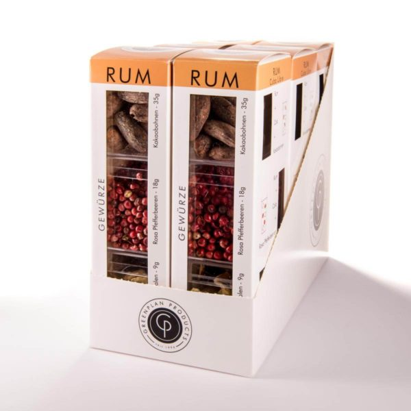 Edler Rum Karibik Profi Cocktail Profi Cocktail Geschenk für Rumliebhaber Rumgenießer Probiertest Geschenkset