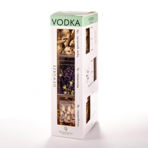 Special Touch Vodka Botanicals 3er Set Geschenkset Wodka Tonic Botanical Pack 3 Wodka
