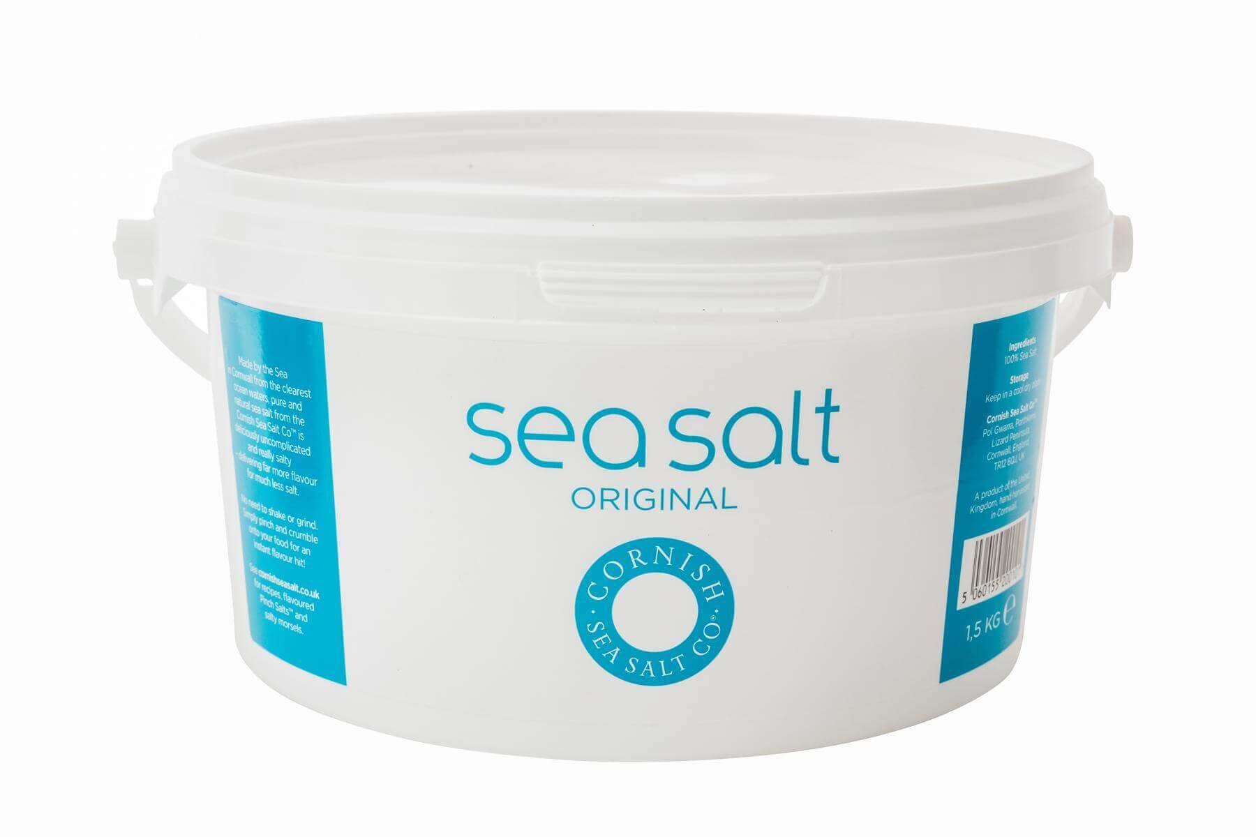 Meersalz - Cornish Sea Salt kaufen Cornish Sea Salt Original Meersalz Tub Cornish Sea Salt Crystals Cornish Sea Salt Meersalz - Cornish Sea Salt kaufen