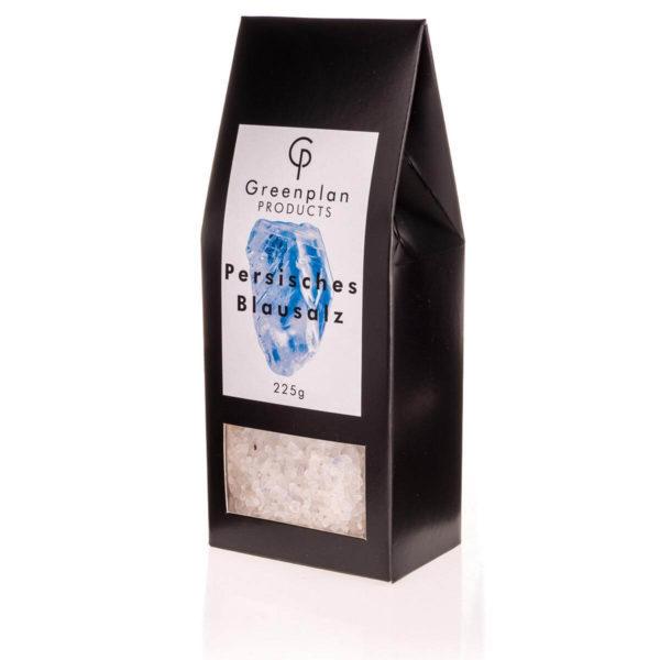 225g Echtes Persisches Blausalz Grob 1 - 5 mm Salz Mühle 1A Qualität Edles Salz