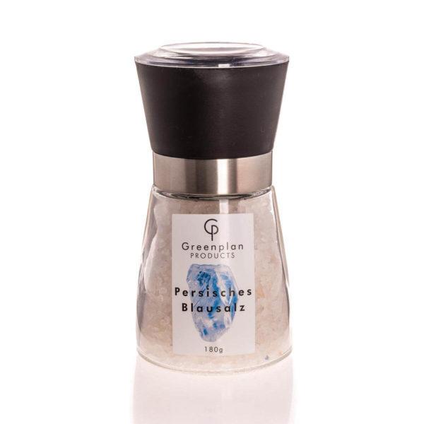 180g Echtes Persisches Blausalz Grob 1 - 5 mm Salz Mühle 1A Qualität Edles Salz Mühle mit Keramikmahlwerk