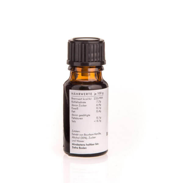 Greenplan Products - Vanilleextrakt Bourbon Madagascar - 50 ml Naturextrakt flüssig 10 ml Vanille-Extrakt aus echter Bourbon-Vanille